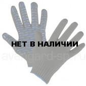 Перчатки х/б с ПВХ Волна-Люкс