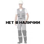 Полукомбинезон Интер (серый+черный+светло-серый)