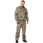 Костюм Хищник Рип-стоп (серый пиксель)