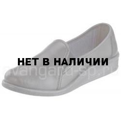 Туфли женские, чёрные, ПВХ
