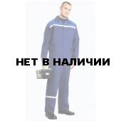 Костюм Производственник с полукомбинезоном (темно-синий) РАСПРОДАЖА