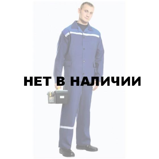 Костюм Производственник с полукомбинезоном (т.син.) РАСПРОДАЖА