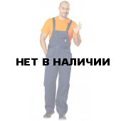 Полукомбинезон Профессионал т/синий (ткань смесовая) РАСПРОДАЖА