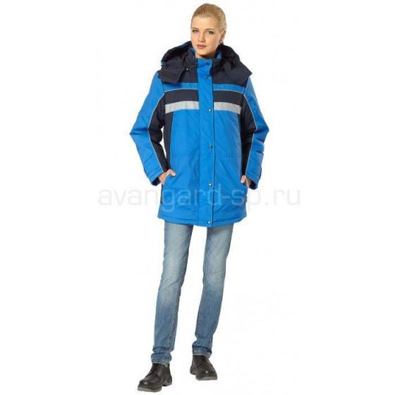 Куртка Омега женская василек+синий