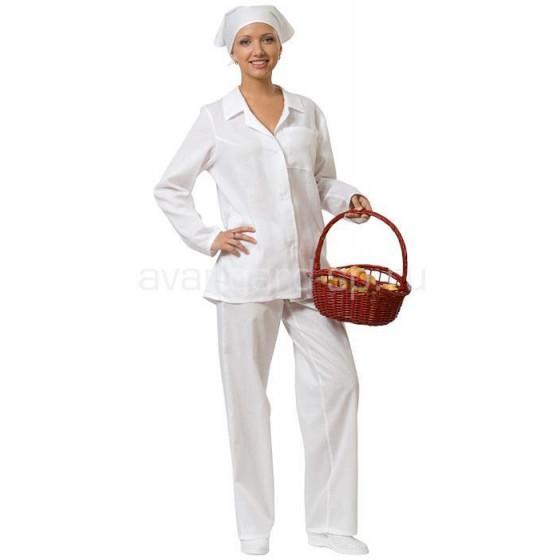 костюм повара фото женский