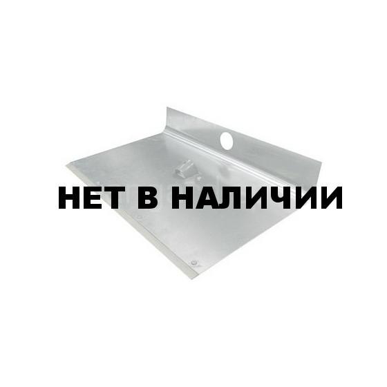 Лопата снегоуборочная алюминевая 1-бортная с накладкой