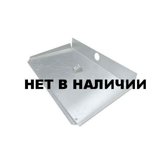 Лопата снегоуборочная алюминевая 3-бортная с накладкой