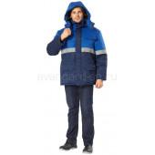 Куртка Орион утепленная (темно-синяя+вас.)