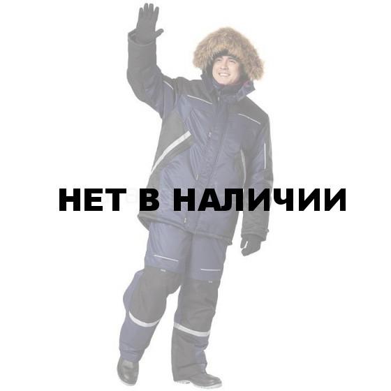 Костюм Полярник, ткань Foreman (синий+черный) с СОП