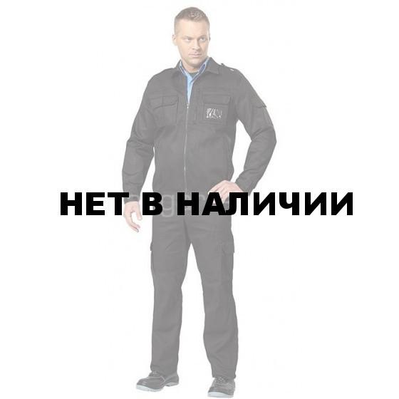 Костюм Витязь летний цвет черный (ткань смесовая) NEW