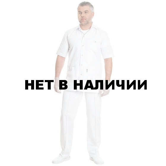 Комплект одежды медицинской мужской Эскулап(блуза и брюки)