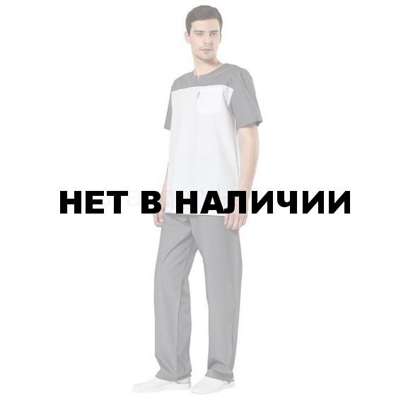 Комплект одежды медицинской мужской Доктор(блуза и брюки)