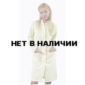 Халат медицинский женский Идеал NEW цвет персик+абрикос РАСПРОДАЖА