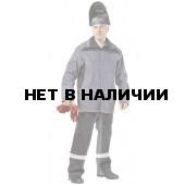 Костюм сварщика Фаервол брючный (сер.+черн.)