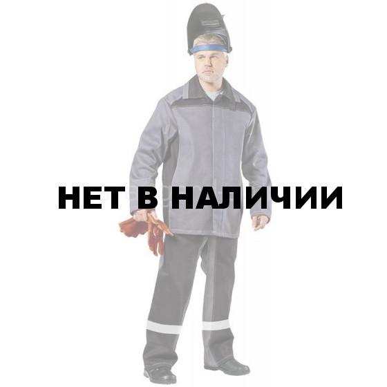 Костюм сварщика Фаервол брючный (серый+черный)