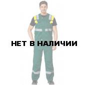 Комплект Логистик, ткань смесовая жилет+брюки-шорты (зеленый+желтый) РАСПРОДАЖА