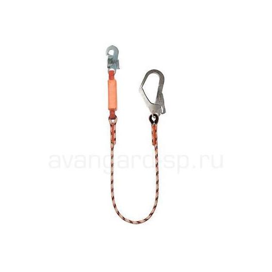 Строп веревочный одинарный нерегулируемый с амортизатором аВ12