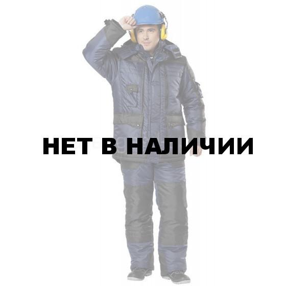 Костюм Беркут Ультра утепл син+ черн.