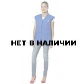 Жилет Комфорт NEW (ткань смесовая,синтепон 200г/м2) цвет василек