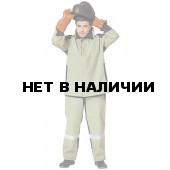 Костюм сварщика Фаервол - Щит брючный (черный+зеленый)