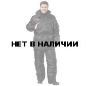 Костюм Охрана утепленный (черный)
