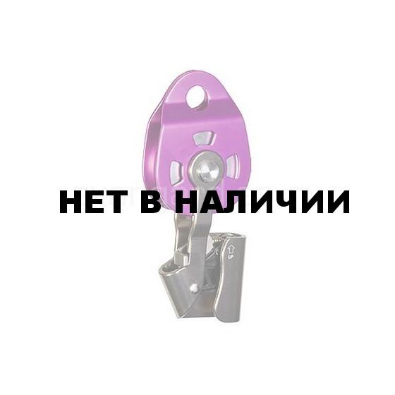 Блок-ролик с зажимом Holder дюраль с подшипником 0193