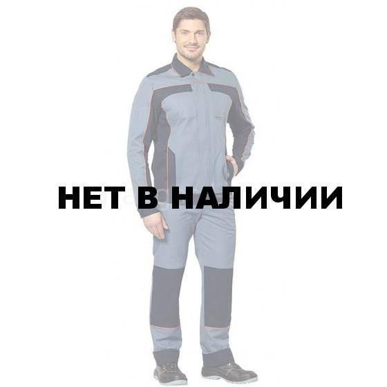 Костюм Коннект (серый+синий)