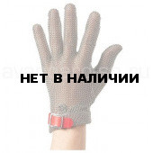 Перчатка кольчужная пятипалая с пластиковым манжетом