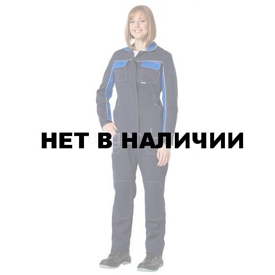 Костюм Практик женский (синий+василек)