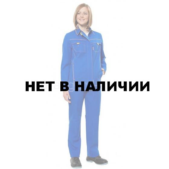 Костюм Джокер-комфорт женский (василек+желтый)
