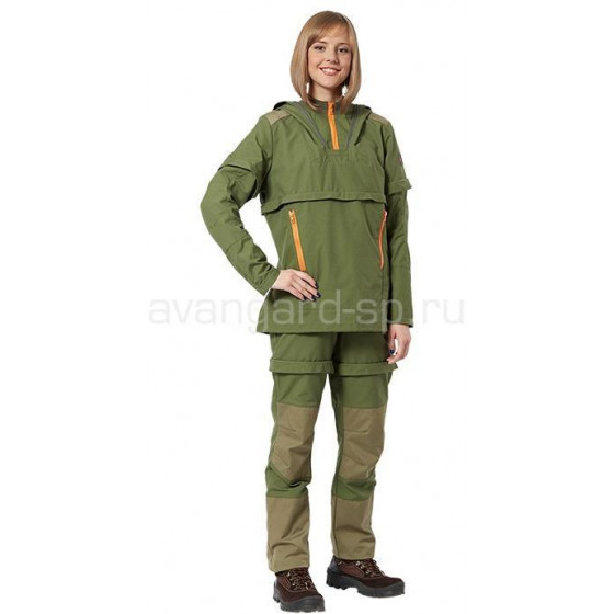 Костюм Антиклещ Outdoor женский с аэрозолем от клещей ДЭТА