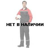 Костюм Пульс NEW мужской (черный+красный)