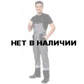 Полукомбинезон Профессионал NEW (сер.+черн.)