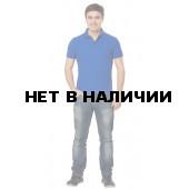 Рубашка-поло с манжетами, 200 г/м.кв., 100% хлопок (цв.белый) СЗ