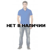 Рубашка-поло с манжетами, 200 г/м.кв., 100% хлопок (цв.желтый)