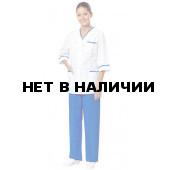 Комплект одежды медицинской женской Ольга(блуза и брюки)