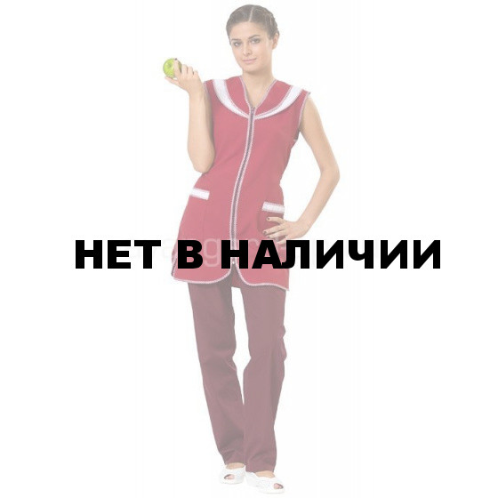 Сарафан Карамель бордо