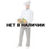 Комплект шеф-повара Гурман (брюки,куртка-китель,косынка,колпак)(ткань смесовая пл.210г)