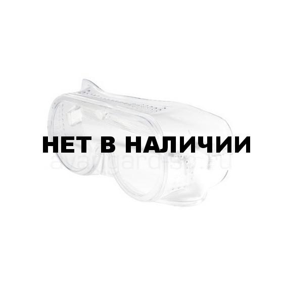 Очки Стандарт закрытые, с прямой вентиляцией