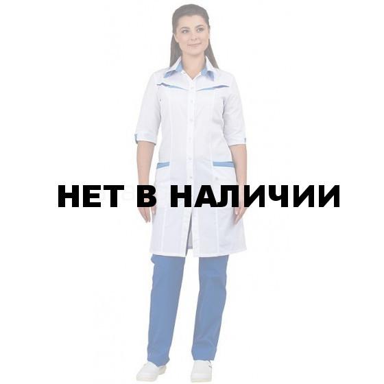 d6d91257e8ea6 Халат медицинский женский Аврора, производитель Авангард-спецодежда ...
