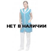 Сарафан Карамель цвет бирюза