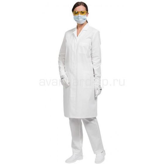 Халат лабораторный женский