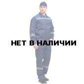Костюм «Легион» New с полукомбинезоном (темно-синий-василек)
