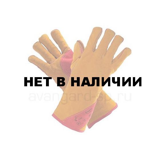 Краги спилк. пятипалые Сибирь с подкладкой