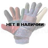 Перчатки РАДУГА кожаные комбинированные