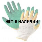 Перчатки х/б с двойным латексом