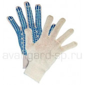 Перчатки х/б с ПВХ (10 класс) Протектор