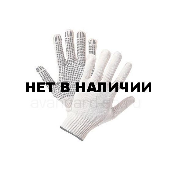 Перчатки х/б с ПВХ Эконом