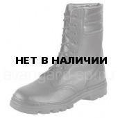 Ботинки ОМОН юфтевые с высок.берцем бортопрош.