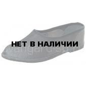 Тапочки закрытые (юфть, микропора)